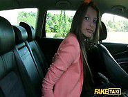 Russian girl fucked in taxi as payment for free trip
