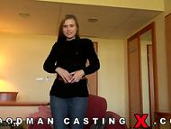 Russian-girl-Jenny-Love-on-casting-Woodman-tearing-ass