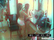 Sex lesbian girls on hidden camera